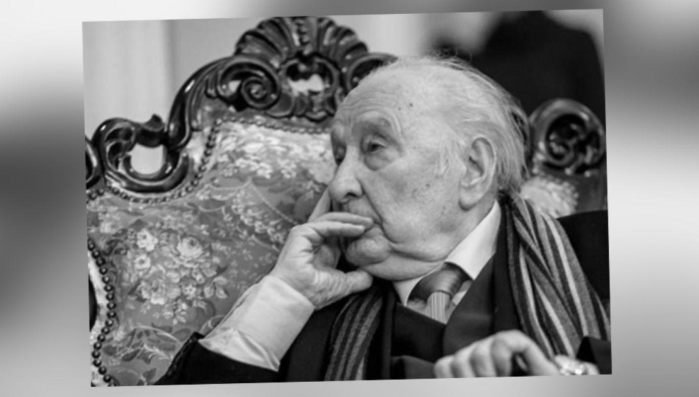 Prof. Zdzisław Szostak tworzył m.in. muzykę filmową (fot. Filharmonia Łódzka/Dariusz Kulesza)