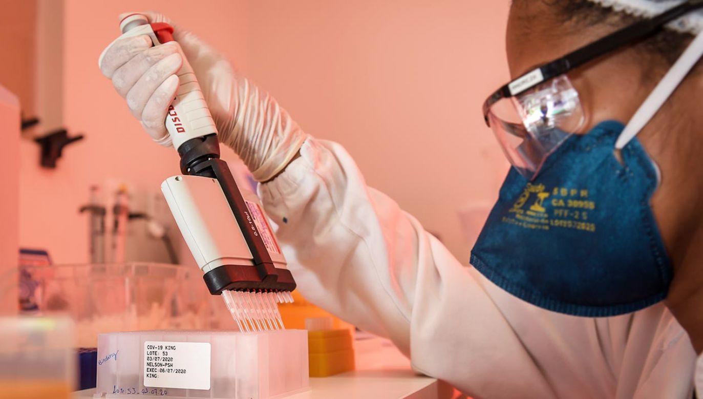 Substancja jest obecnie stosowana jako podstawowy składnik powszechnie używanych sprayów do nosa (fot. Pedro Vilela/Getty Images)
