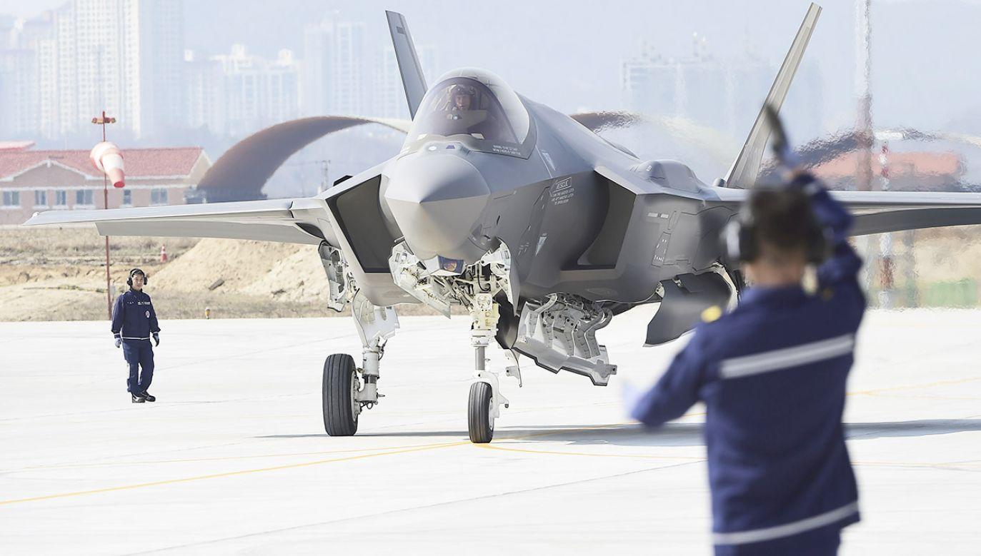 Polska wystąpiła do USA o przygotowanie oferty 32 samolotów F-35 Lightning II (fot. South Korea Defense Acquisition Program Administration via Getty Images)