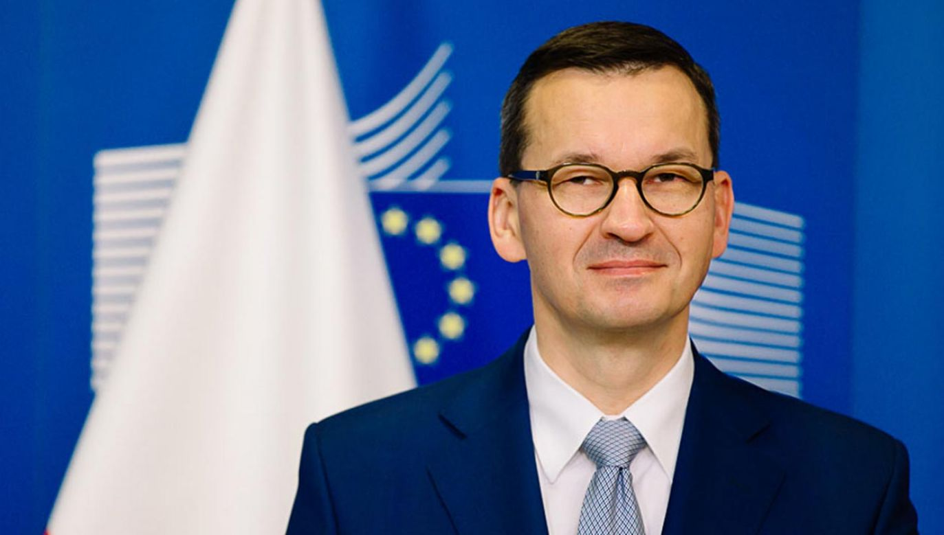 Premier podkreślał już wielokrotnie, że tzw. polexit to fake news (fot. Krystian Maj/KPRM)
