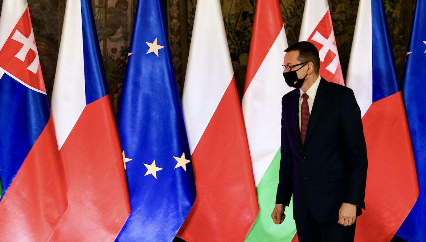 Ministrowie będą rozmawiać też o podpisanej przez premierów krajów V4 deklaracji krakowskiej (fot. F.Radwanski/SOPA/LightRocket/Getty Images)