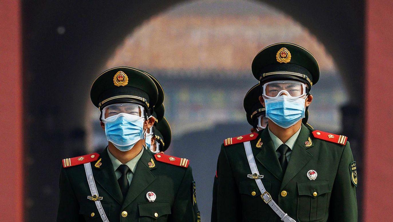 Rosja i Chiny wykorzystały pandemię koronawirusa do osłabiania Zachodu (fot. Kevin Frayer/Getty Images)