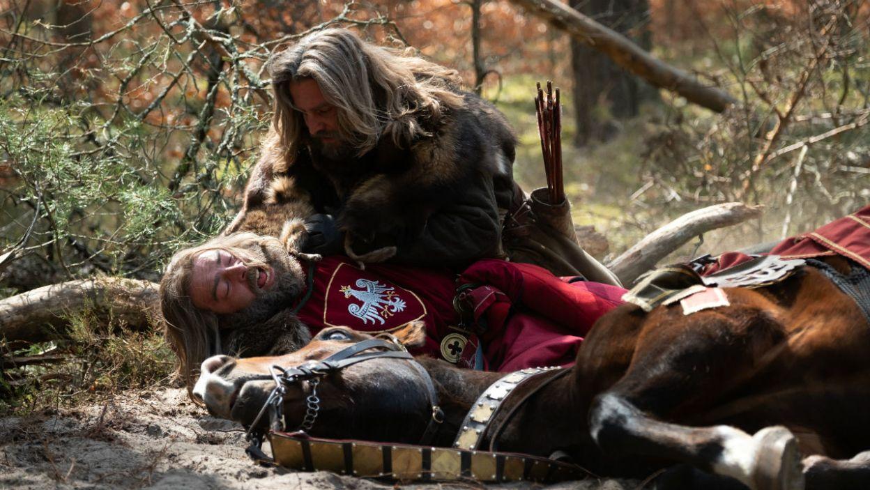 9 września 1370 roku Kazimierz spadł z konia i poważnie złamał nogę (fot. TVP)