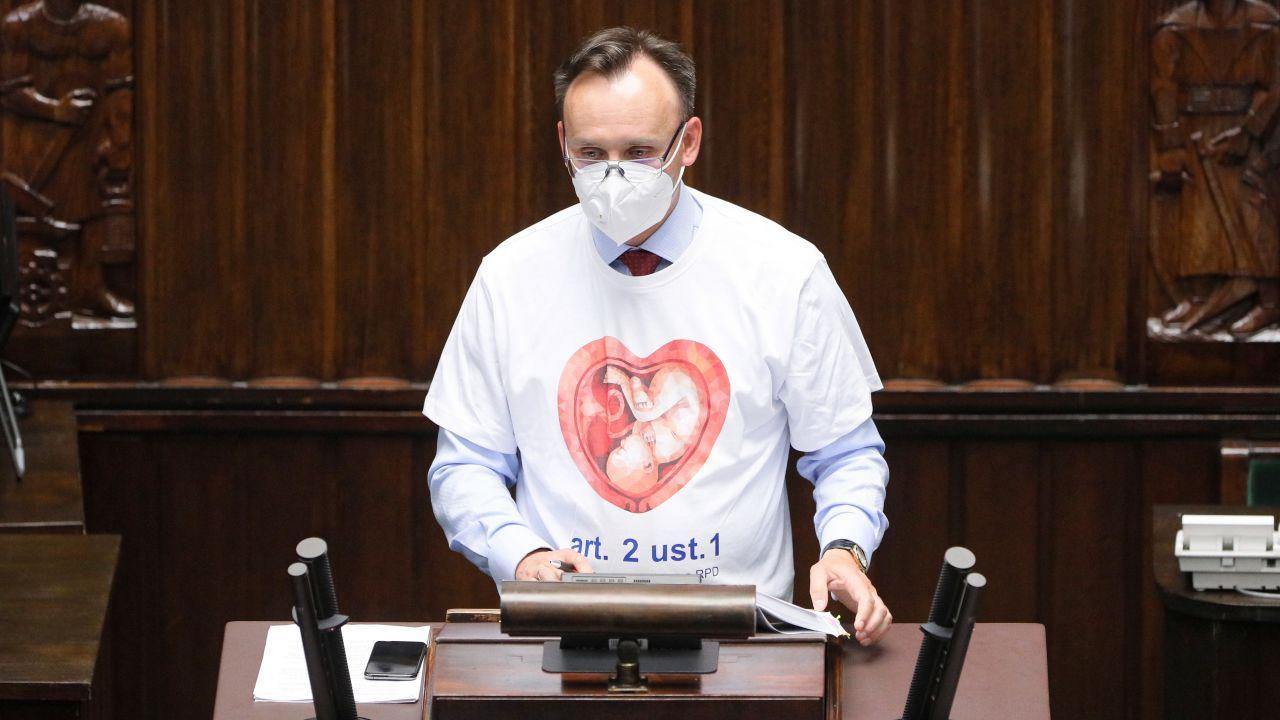 Rzecznik praw dziecka Mikołaj Pawlak (fot. PAP/Paweł Supernak)