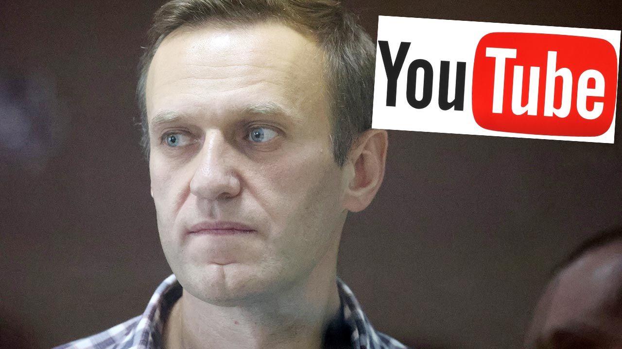 YouTube usunął film na kanale Aleksieja Nawalnego (fot. Vladimir Gerdo\TASS via Getty Images; Shutterstock)