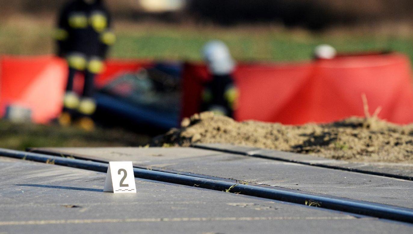 Okoliczności wypadku wyjaśnia ostrowska policja (fot. PAP/Darek Delmanowicz)