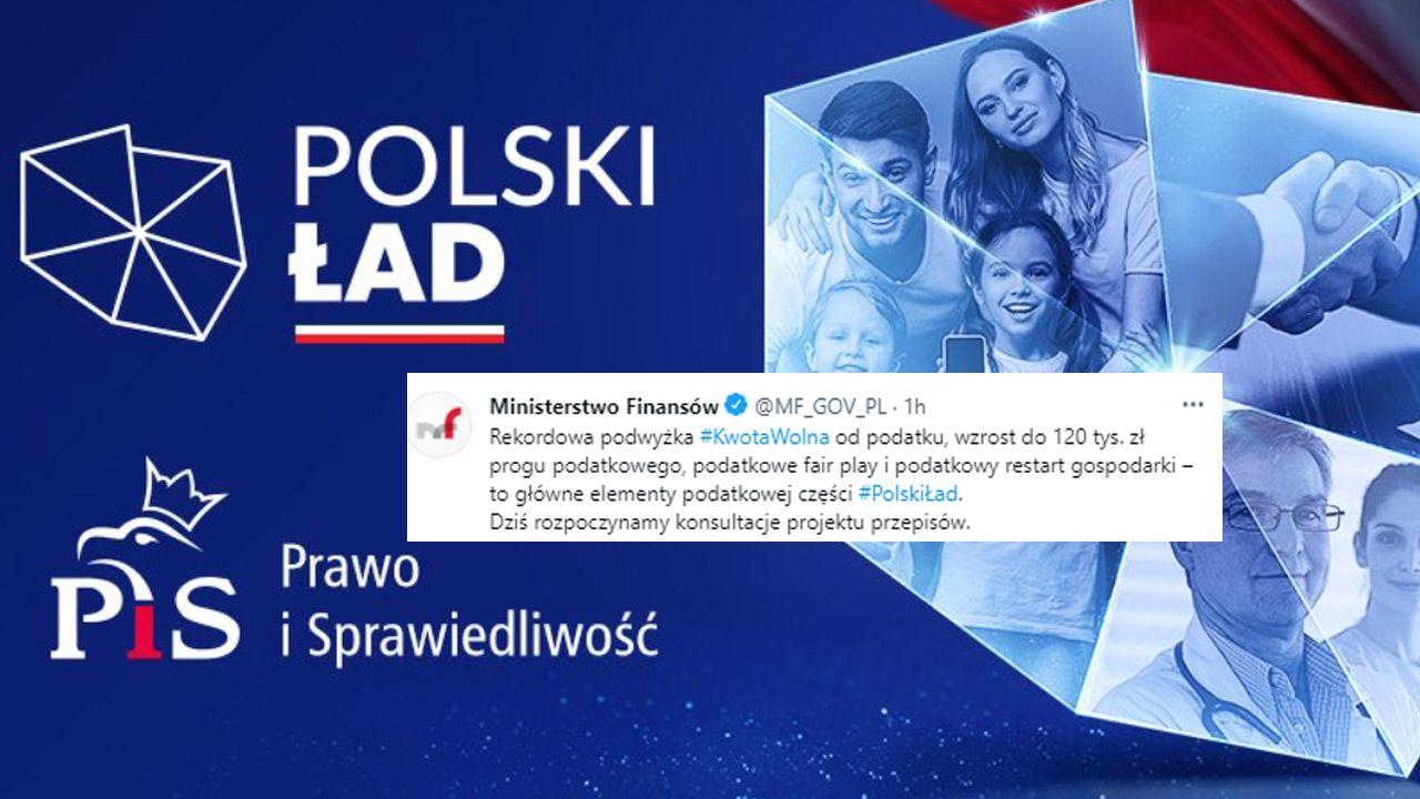 Projekt ustawy podatkowej jest częścią Polskiego Ładu (fot.TT/Prawo i Sprawiedliwość)