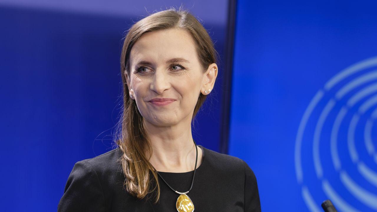 Sylwia Spurek. Co zrobią Zieloni? (fot. Thierry Monasse/Getty Images)