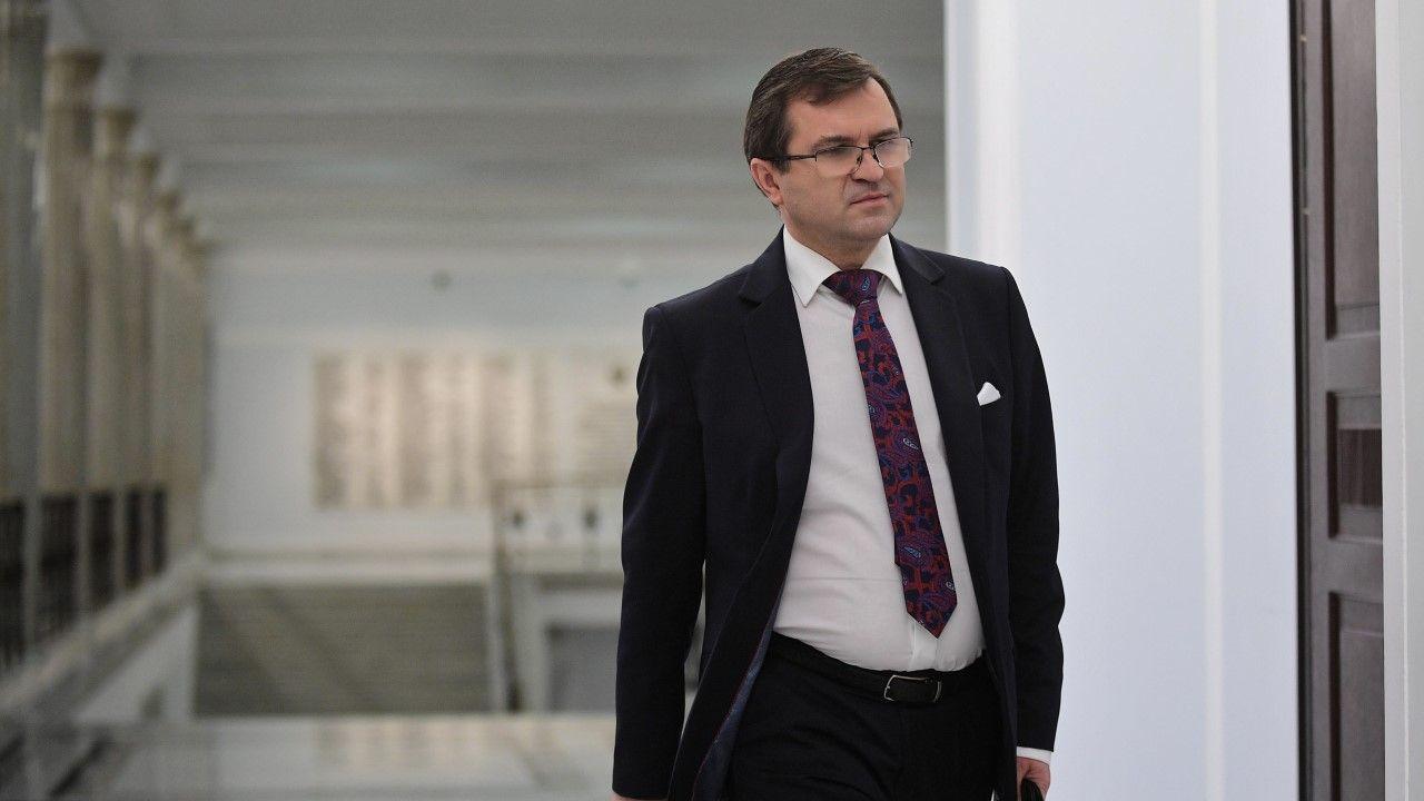 Poseł stanowczo zaprzeczył, jakoby zaszczepił sie poza kolejnością (fot. arch PAP/Marcin Obara)