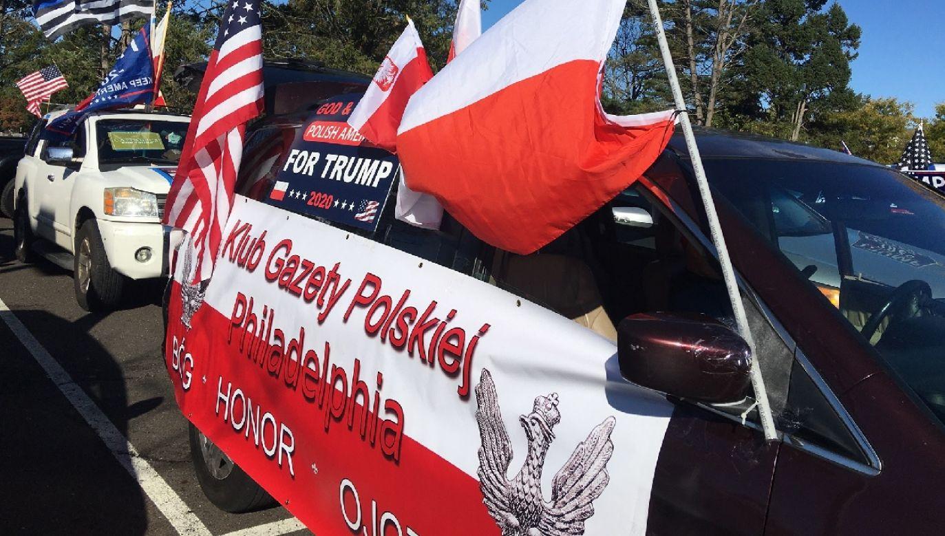 Wydarzenie było wyrazem wdzięczności za politykę prezydenta wobec Polski (fot. FB/PA Polish Americans for Trump)