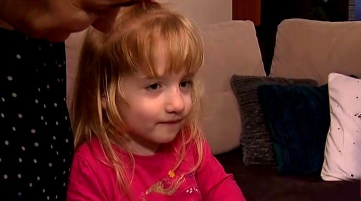 5-letnia Kasia: chciałabym chodzić bez ortez