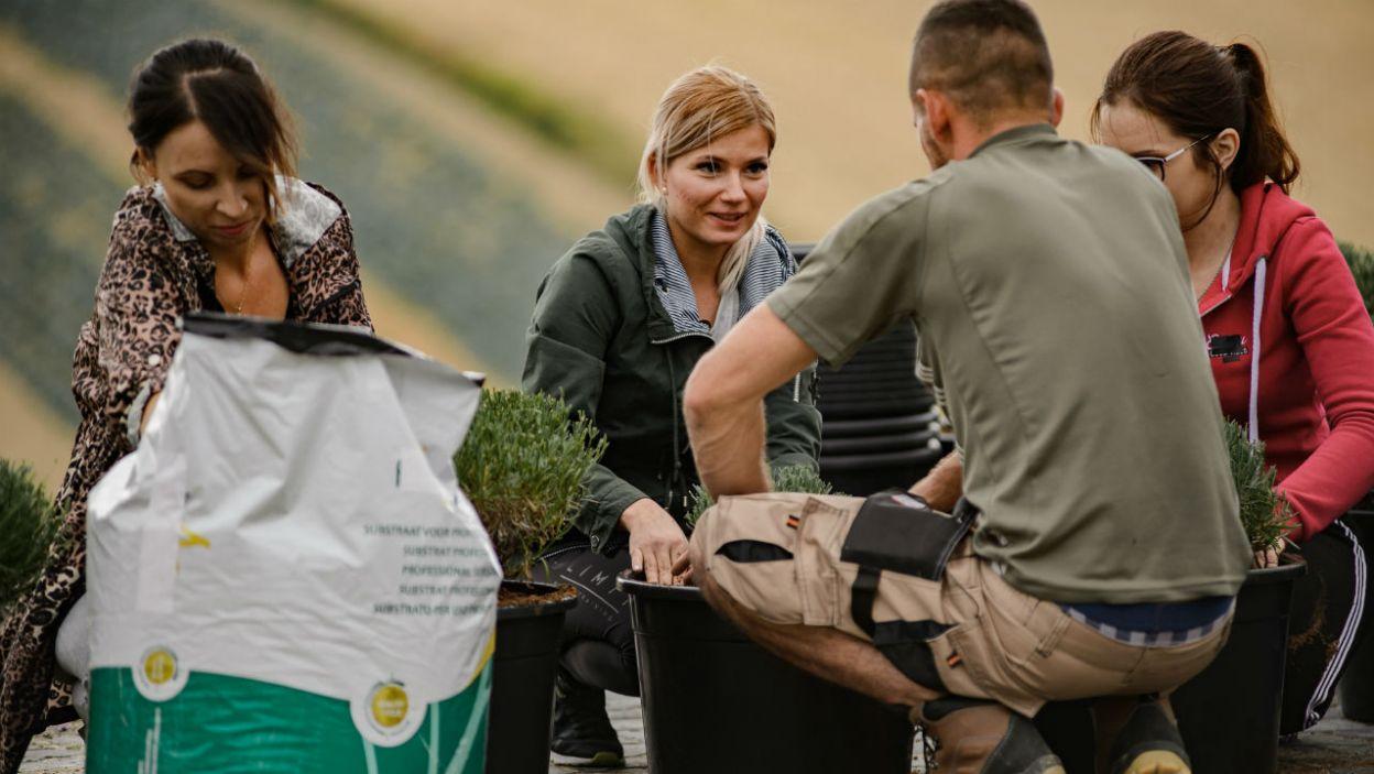 Pobyt na gospodarstwie to ważny czas dla rolników i ich kandydatek (fot. TVP)
