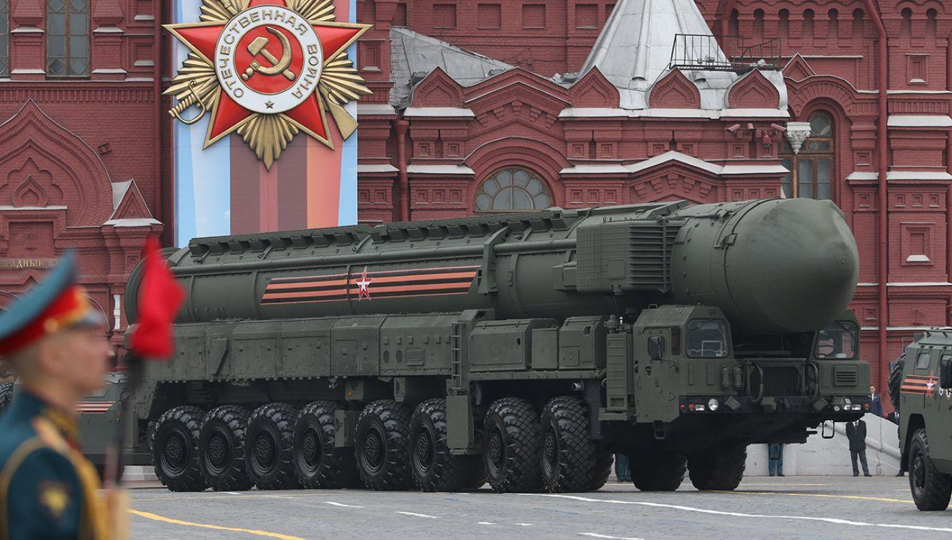 Rosyjskie dowództwo zakłada, że w razie atomowego ataku wroga będzie miało maksymalnie ok. 10 minut na wystrzelenie własnych rakiet (fot. Mikhail Svetlov/Getty Images)