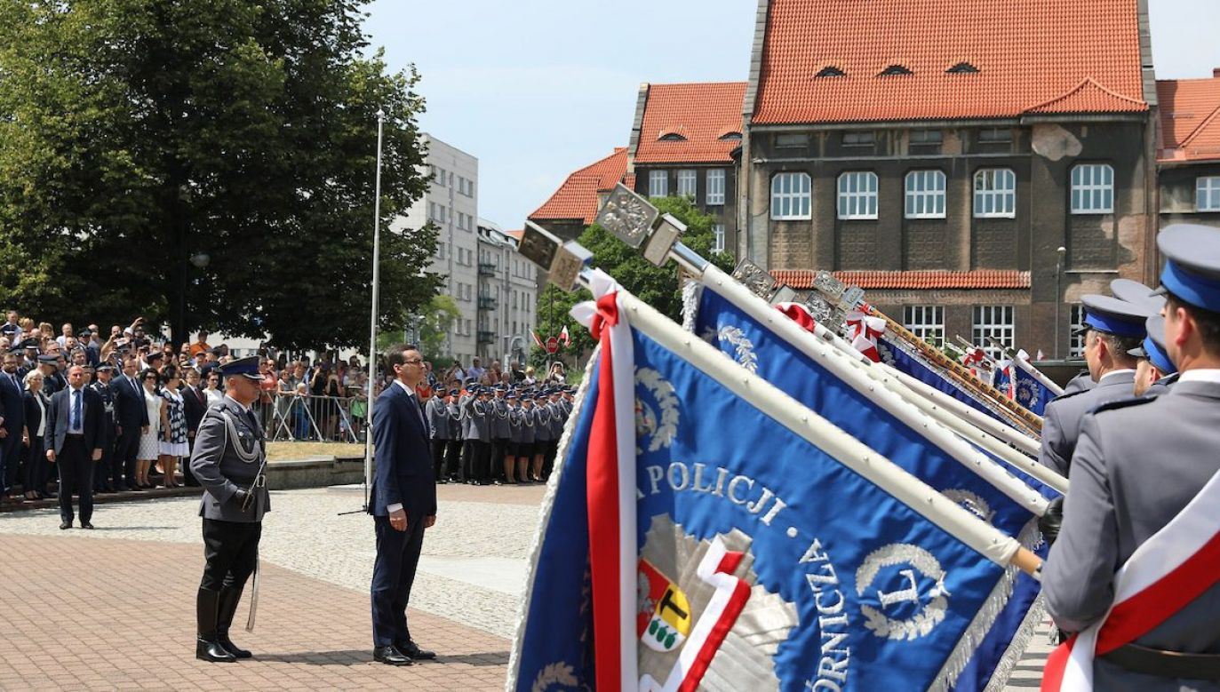 Obchody Święta Policji w Katowicach (fot. Twitter/Policja)