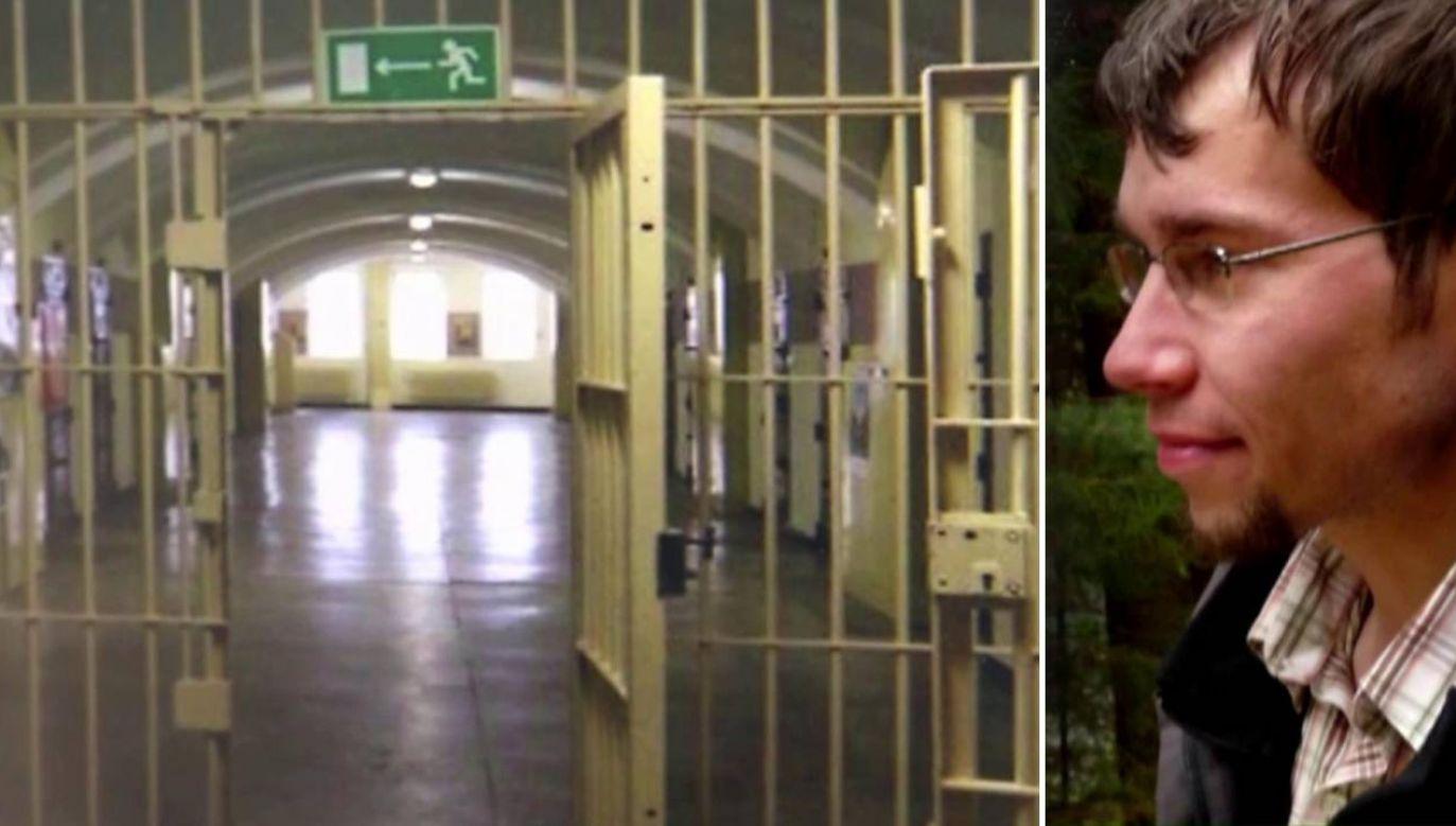 Bartłomiej Rondo odsiaduje wyrok 15 lat więzienia (fot. TVP1)