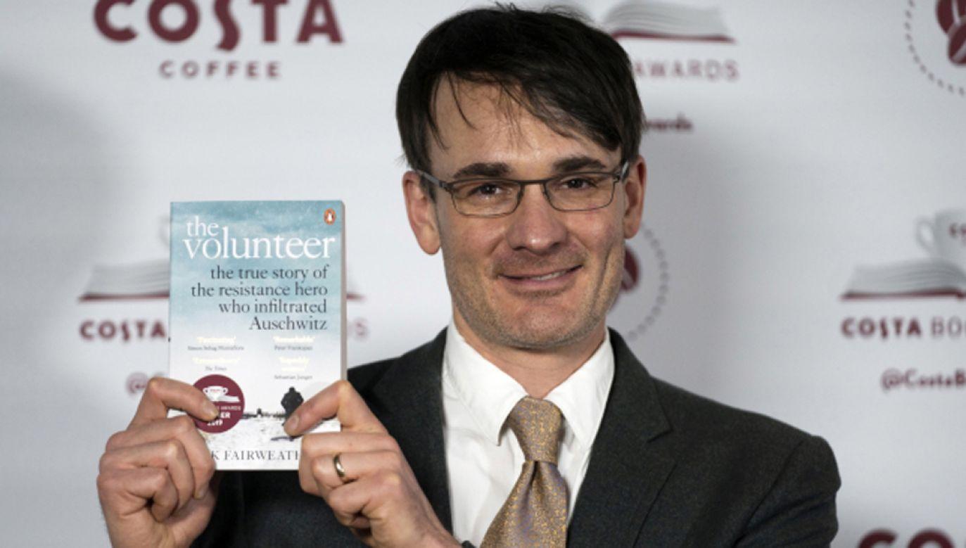 Nagrodę otrzymał dziennikarz Jack Fairweather z Wielkiej Brytanii (fot. PAP/EPA/WILL OLIVER)