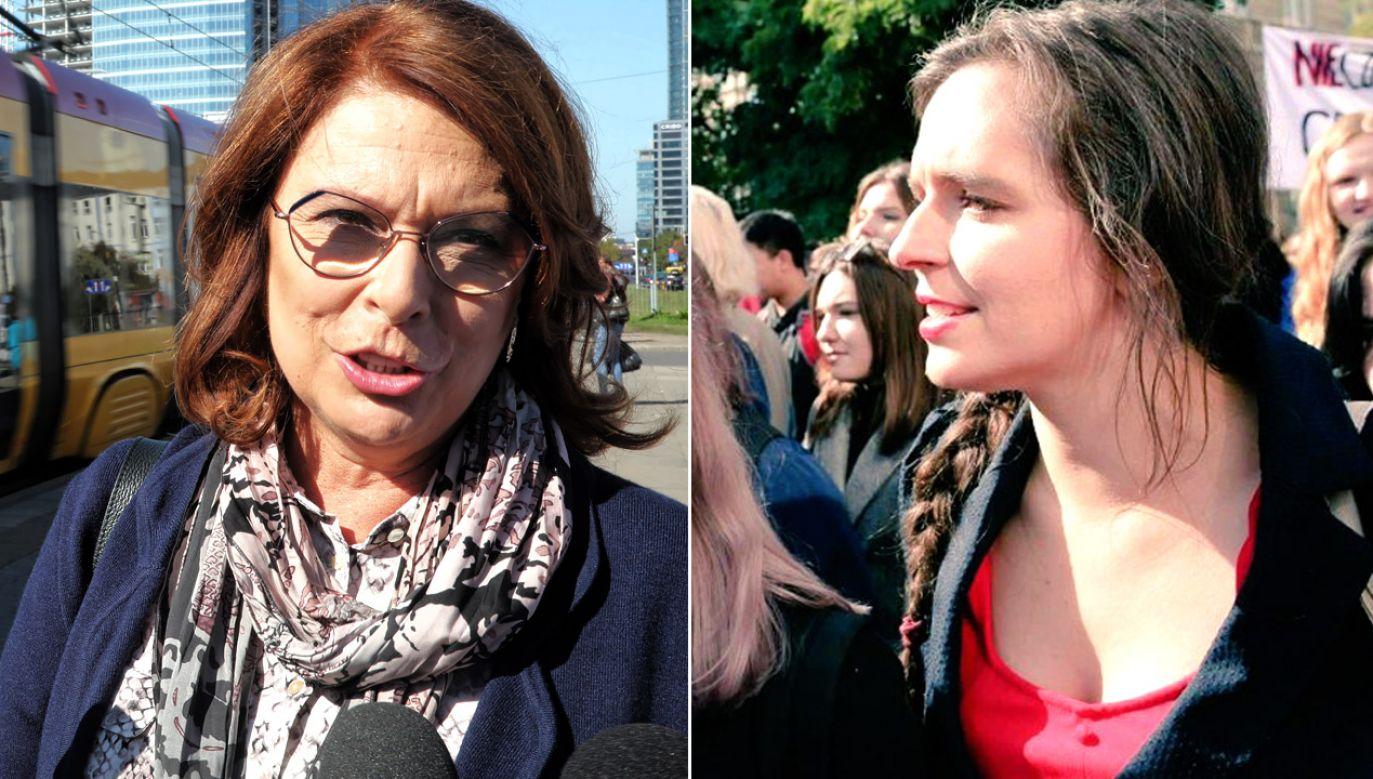 Co łączy Małgorzatę Kidawę-Błońską i Klaudię Jachirę?  (fot. PAP/Wojciech Olkuśnik/tt/@JachiraKlaudia)