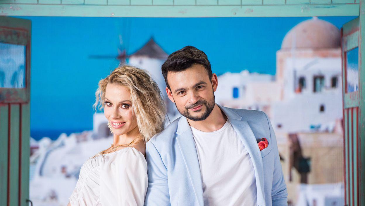 Niezapomniany duet tańczących dziennikarzy stworzą Małgorzata Opczowska i Robert Sharif El Gendy (fot. TVP/Waldemar Kompała)