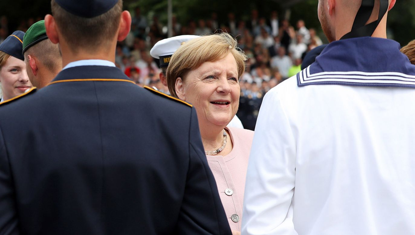 Kanclerz Niemiec Angela Merkel (fot. PAP/EPA/FELIPE TRUEBA)
