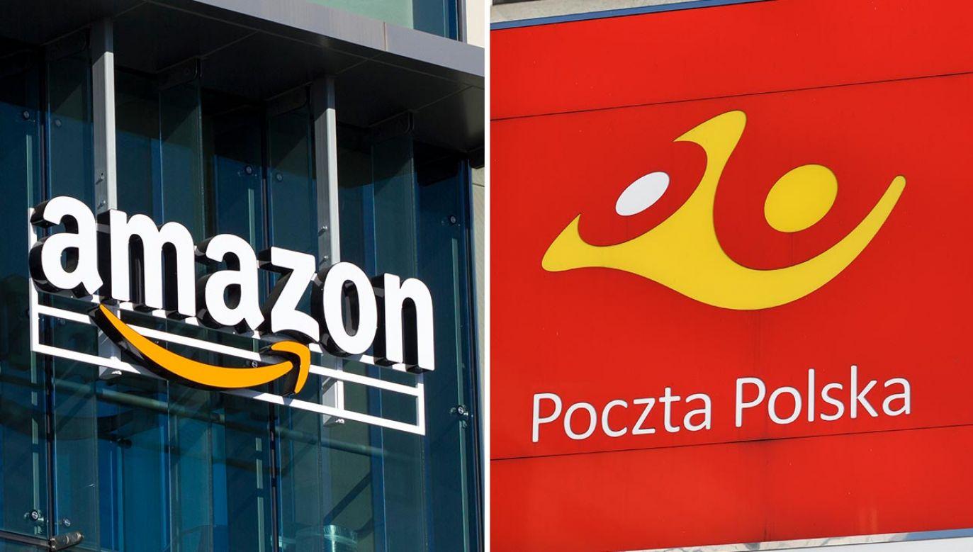 Poczta Polska rozwija współpracę z Amazonem (fot. Shutterstock/Tada Images, OleksSH)
