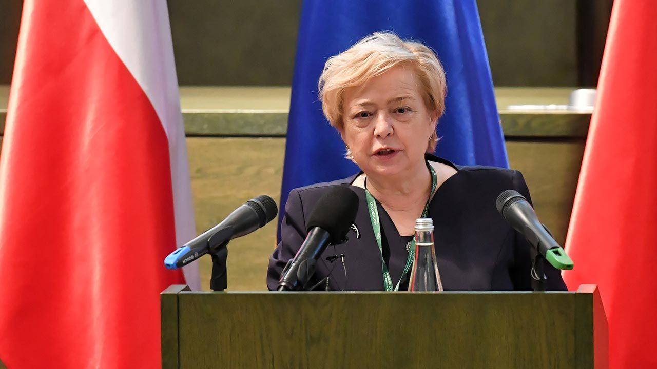 Gersdorf przestała pełnić obowiązki I prezes kilka miesięcy temu (fot. PAP/Piotr Nowak)