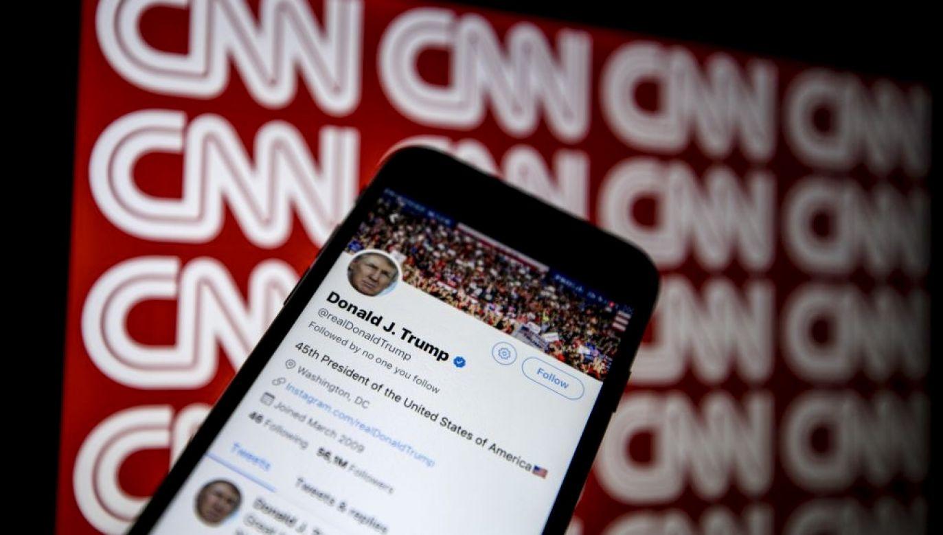 Project Veritas ujawnił rozmowy jednego z dyrektorów CNN nt. Trumpa (fot. Ali Balkci/Anadolu/Getty Images)