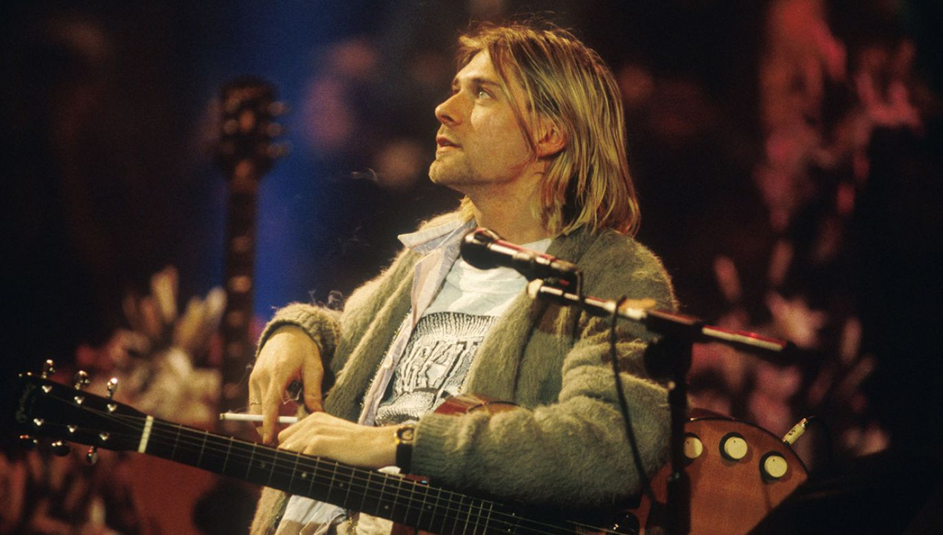 Ten sweterek Kurta Cobaina może być wart nawet 300 tys. dolarów! (fot.  Frank Micelotta Archive / Contributor/Gettyimages)