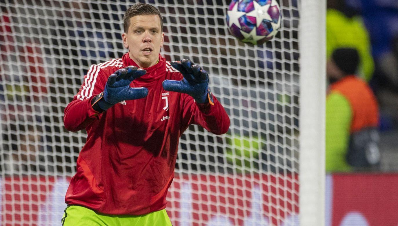 Wojciech Szczęsny podczas treningu Juventusu Turyn (fot. gettyimages)