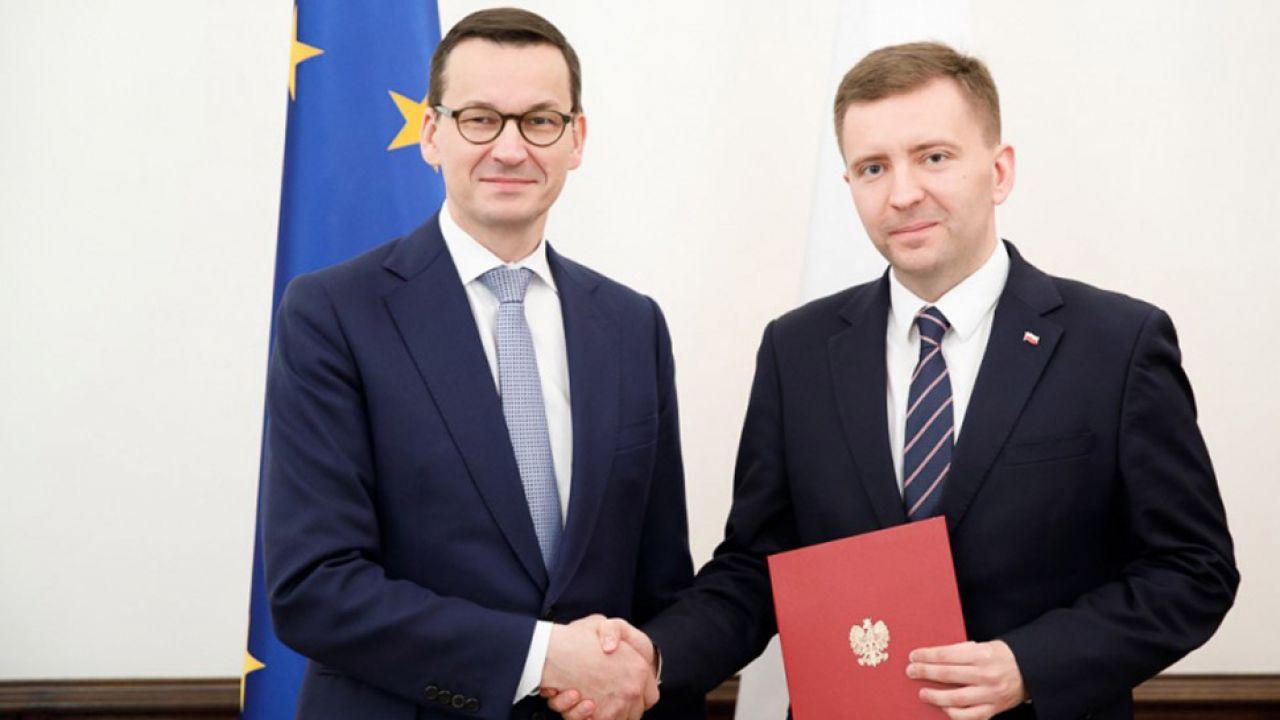 Łukasz Schreiber nowym ministrem w Kancelarii Premiera (fot. KPRM/Krystian Maj)