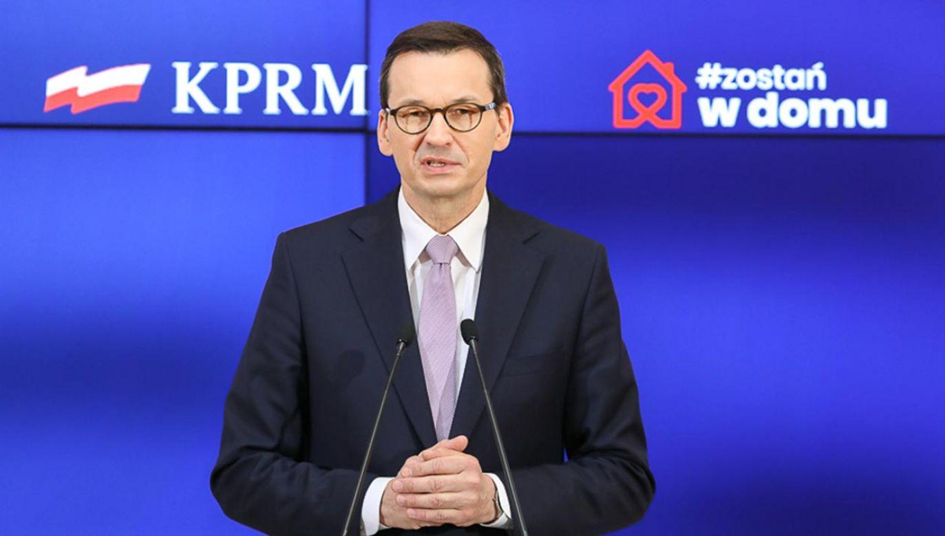 Po świętach przedstawimy plan powrotu do nowej rzeczywistości gospodarczej (fot. Krystian Maj/KPRM)