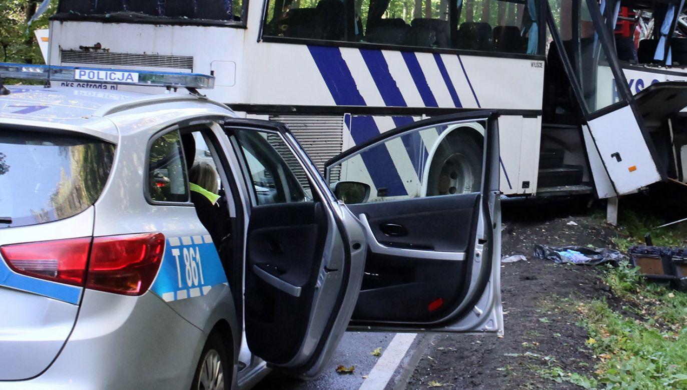 Kierowcy byli trzeźwi (fot. arch.PAP/Paweł Szewczyk, zdjęcie ilustracyjne)