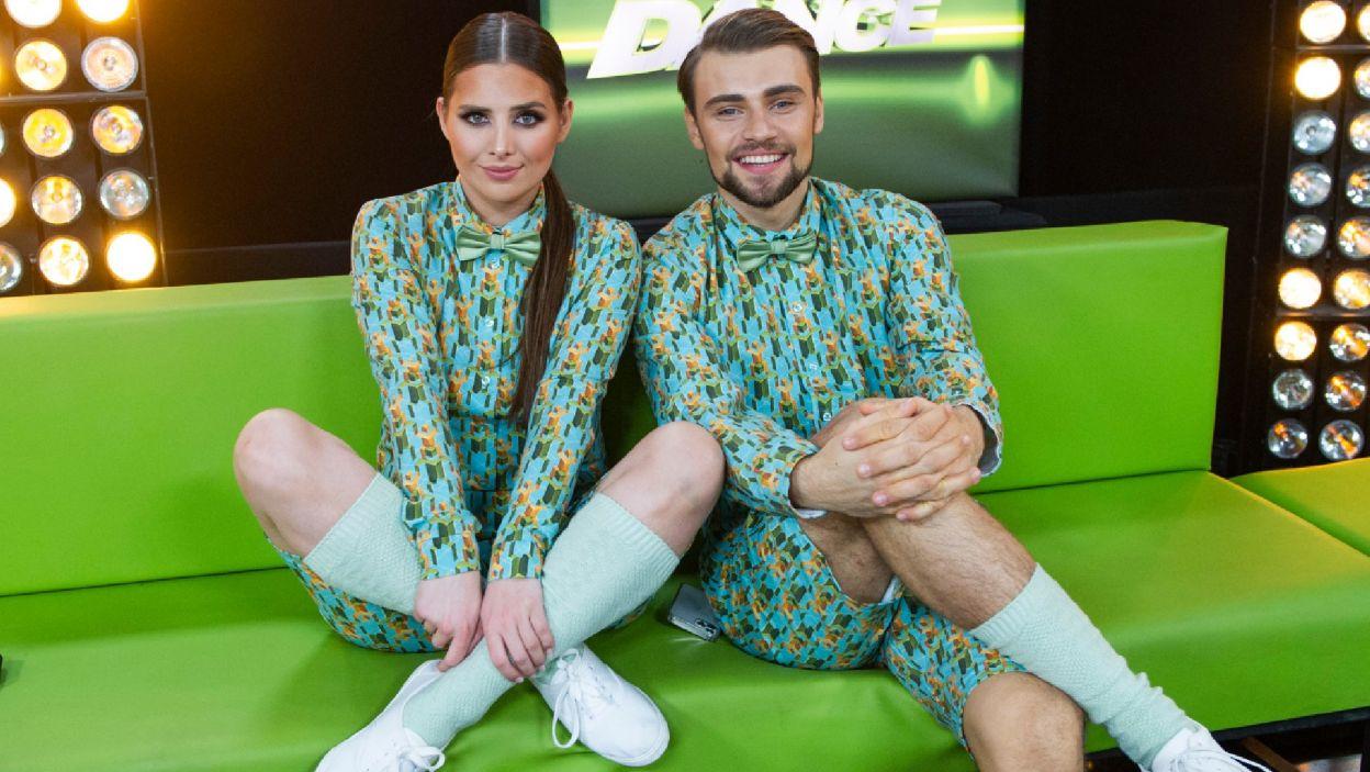 """Damian i Ola zatańczyli do emocjonującego utworu """"Papaoutai"""". –  To był wasz najlepszy występ do tej pory – stwierdził Agustin (Natasza Mludzik/ fot. TVP)"""