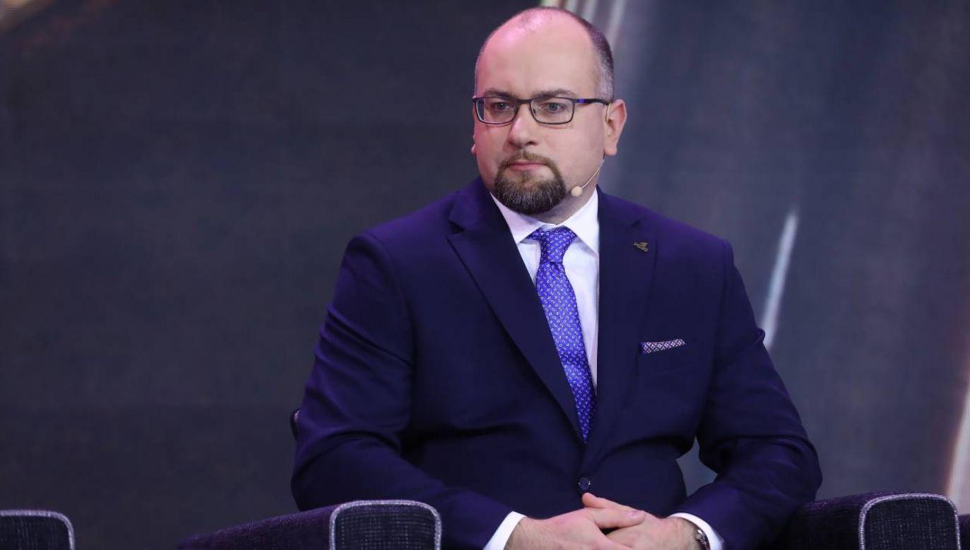 Pezes zarządu PGNiG SA Paweł Majewski (fot. PAP/Rafał Guz)