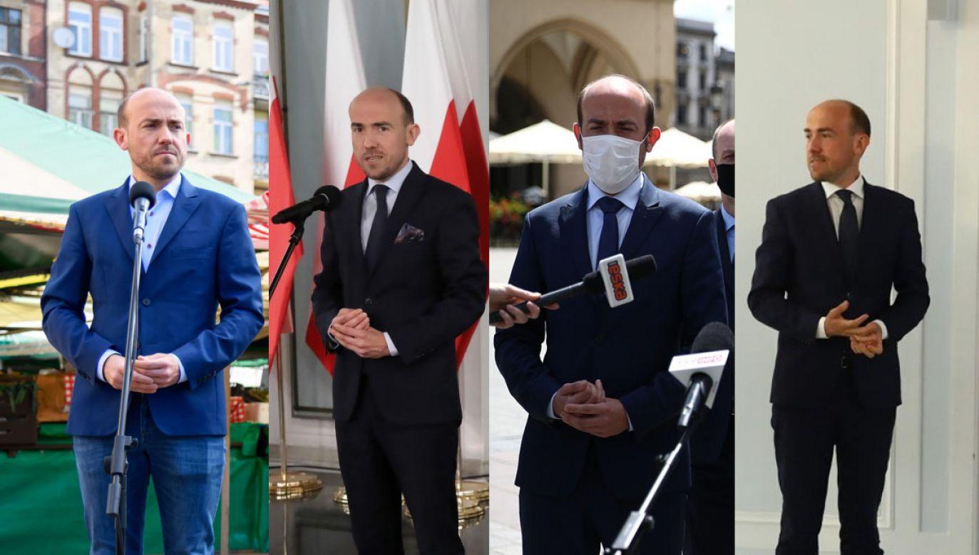 Przypominamy, jak lider Platformy Obywatelskiej mijał się z prawdą (fot. PAP/Jakub Kaczmarczyk; Wojciech Olkuśnik; Łukasz Gągulski; Rafał Guz)