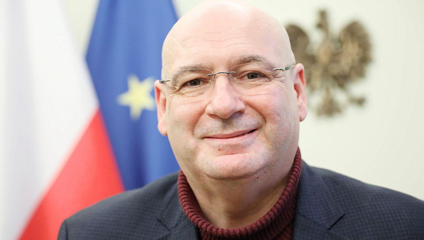 Piotr Zgorzelski (fot. PAP/Leszek Szymański)