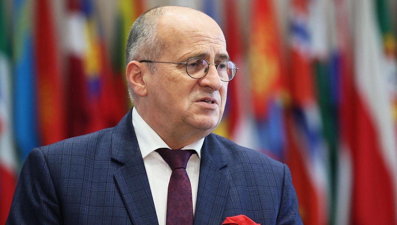 Wizyta ministra Raua w Berlinie (fot. PAP/Leszek Szymański)