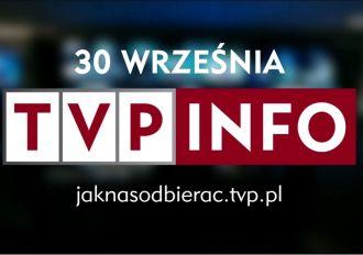 Rozpoczyna się proces dostosowania TVP INFO do nadawania w jakości HD!