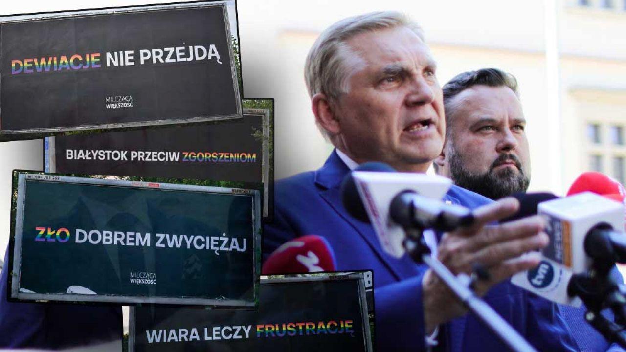 Prezydent Białegostoku Tadeusz Truskolaski zapowiedział złożenie zawiadomienia do prokuratury (fot. Filip Radwanski/SOPA Images/LightRocket via Getty Images)