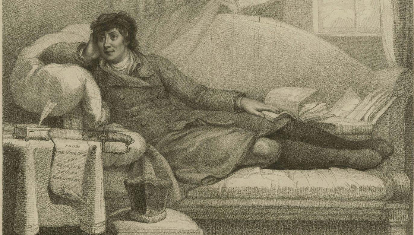 Tadeusz Kościuszko (1746-1817), fragment ryciny z 1798 roku Anthony'ego Cardona. Fot. Fine Art Images/Heritage Images via Getty Images