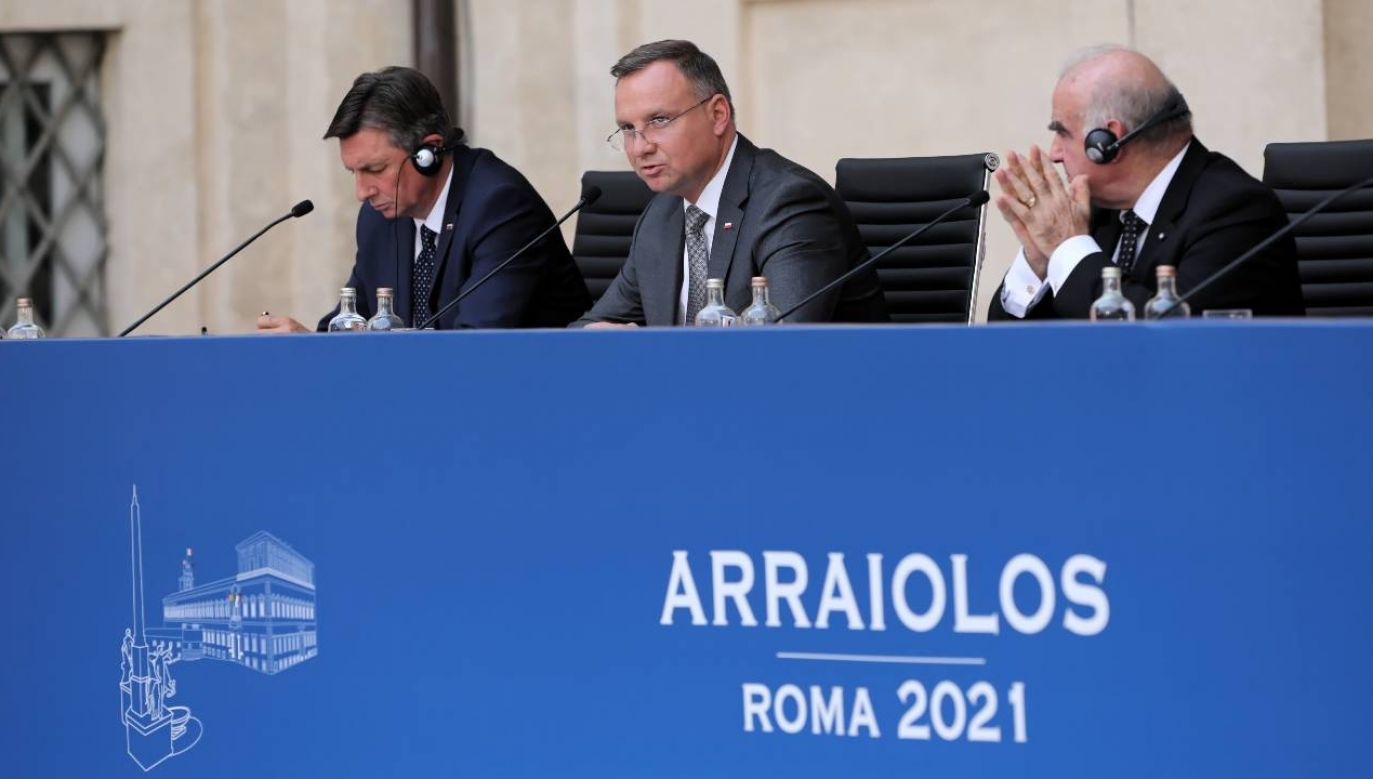 Prezydent Andrzej Duda poruszał między innymi kwestię Nord Stream 2 (fot. PAP/Wojciech Olkuśnik)