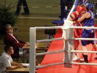 Michalczyk w pojedynku z Finką Hanne Makinen (fot. PAP/Andrzej Grygiel)