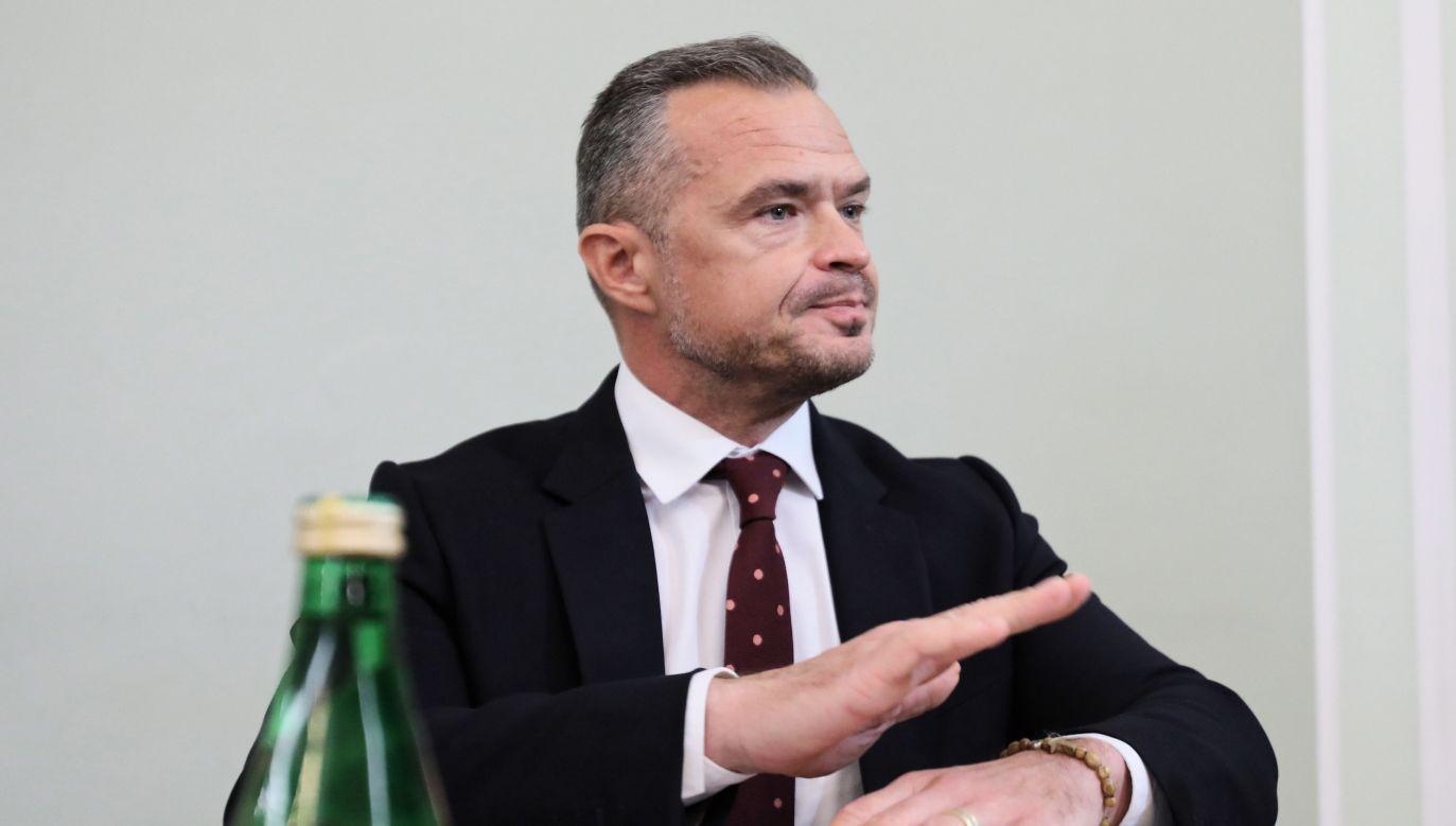W czwartek Sławomir Nowak – jako ostatni ze świadków – zeznawał przed sejmową komisją ds. wyłudzeń podatku VAT (PAP/Leszek Szymański)