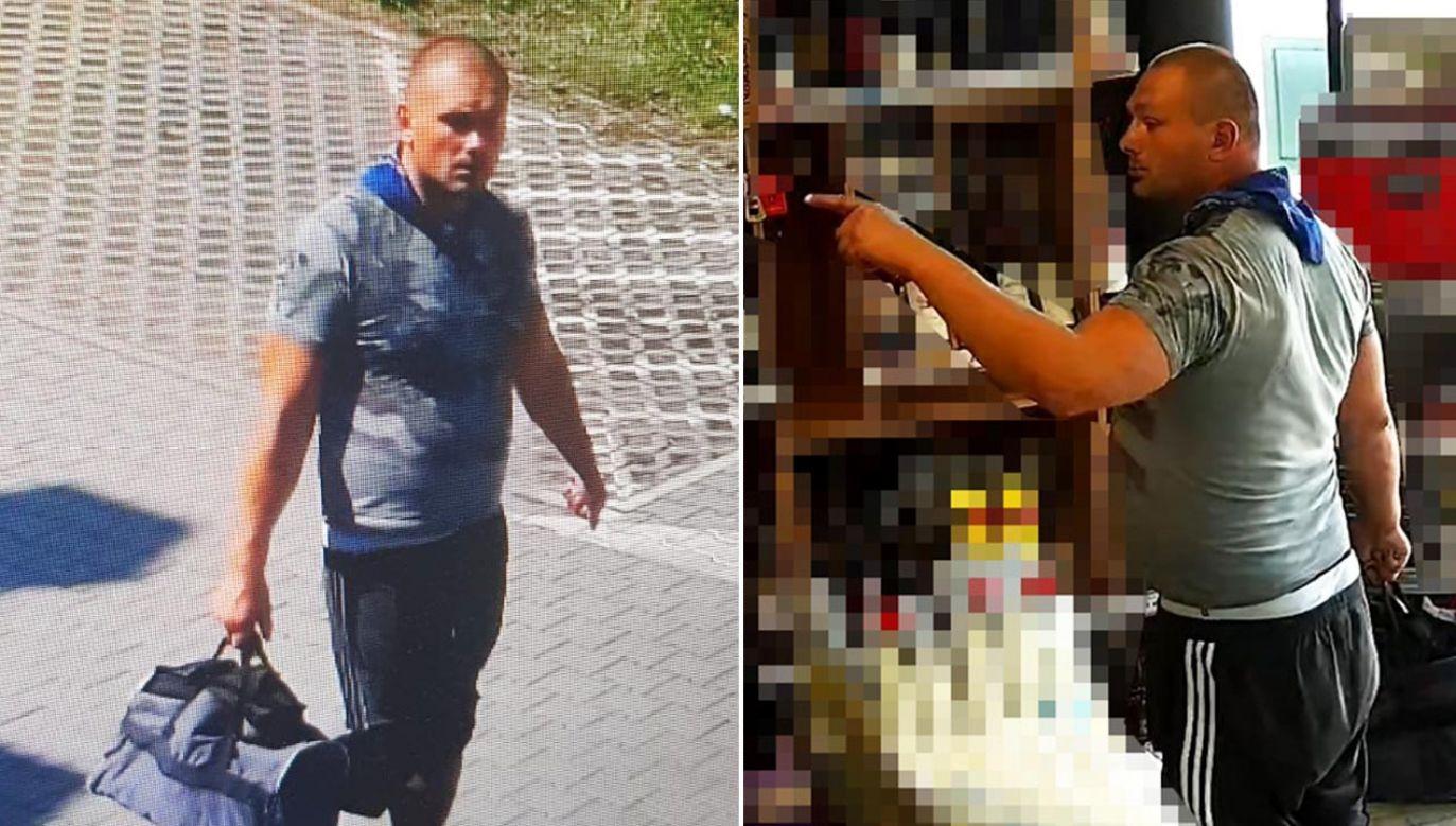 Do rozboju doszło 13 sierpnia 2020 r. około godz. 13:30 w Bydgoszczy  (fot. Policja)