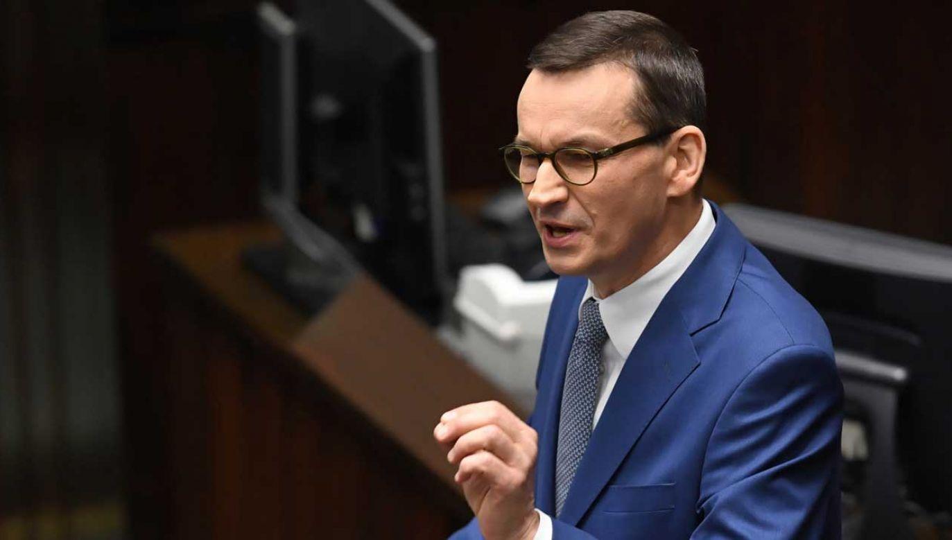 Wniosek o wotum zaufania dla rządu to efekt rozmów premiera i prezydentem (fot. PAP/Radek Pietruszka)