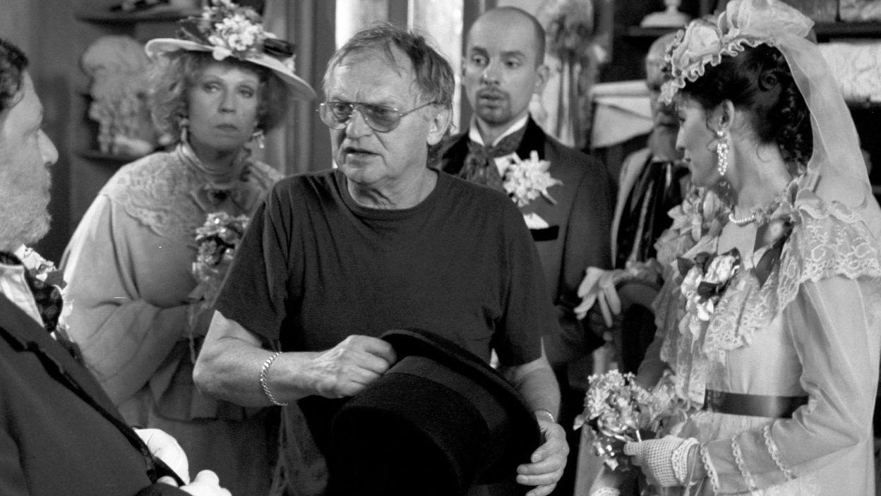 Zmarły 16 lutego Jerzy Gruza wyreżyserował dla Teatru Telewizji kilkadziesiąt spektakli (fot. TVP)