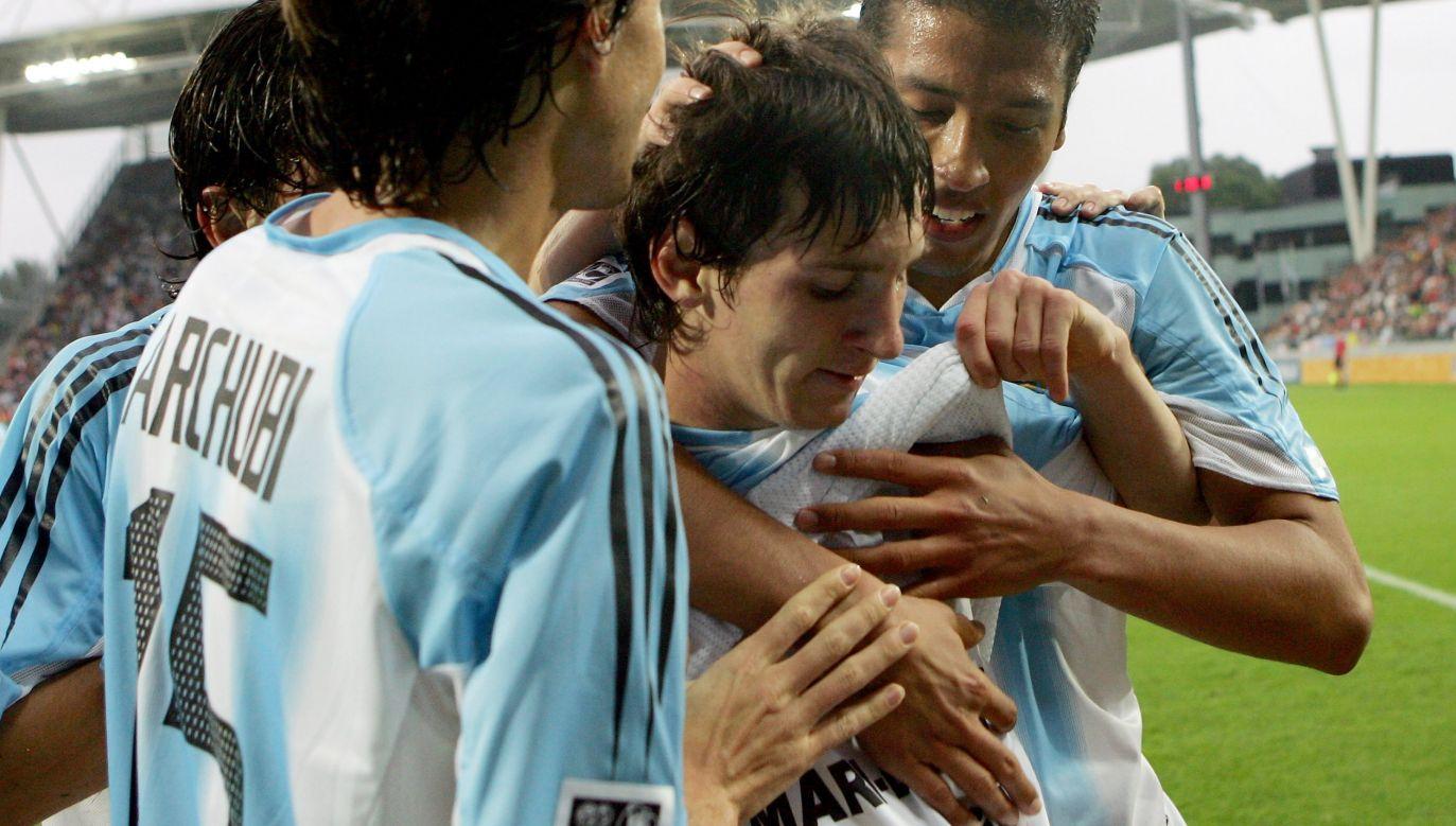 Gwiazda Leo Messiego rozbłysła podczas młodzieżowego mundialu w 2005 r. (fot. Lars Baron/Bongarts/Getty Images)