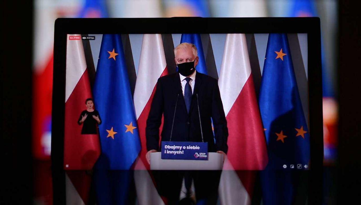 Gościem konferencji będzie wicepremier Jarosław Gowin (fot. PAP/Marcin Obara)