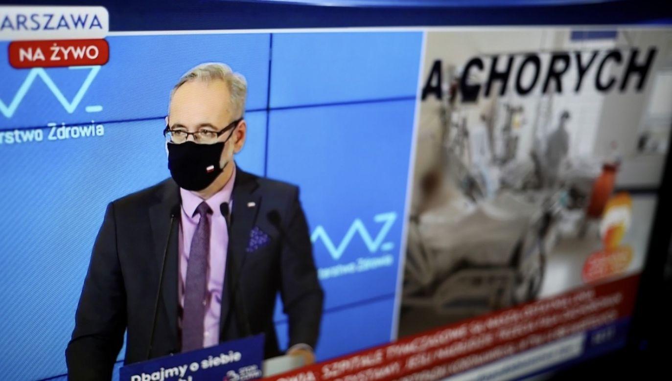 Pracujemy nad rozwiązaniami, które by zmniejszyły liczbę zgonów – mówił minister (fot. PAP/Leszek Szymański)