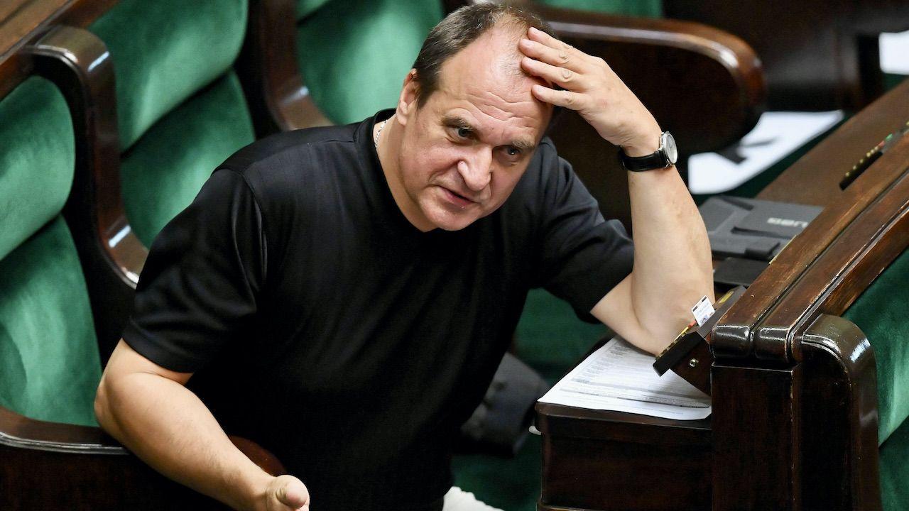 Paweł Kukiz dosadnie skomentował inicjatywęBorysa Budki i Rafała Trzaskowskiego (fot. arch.PAP/R.Pietruszka)