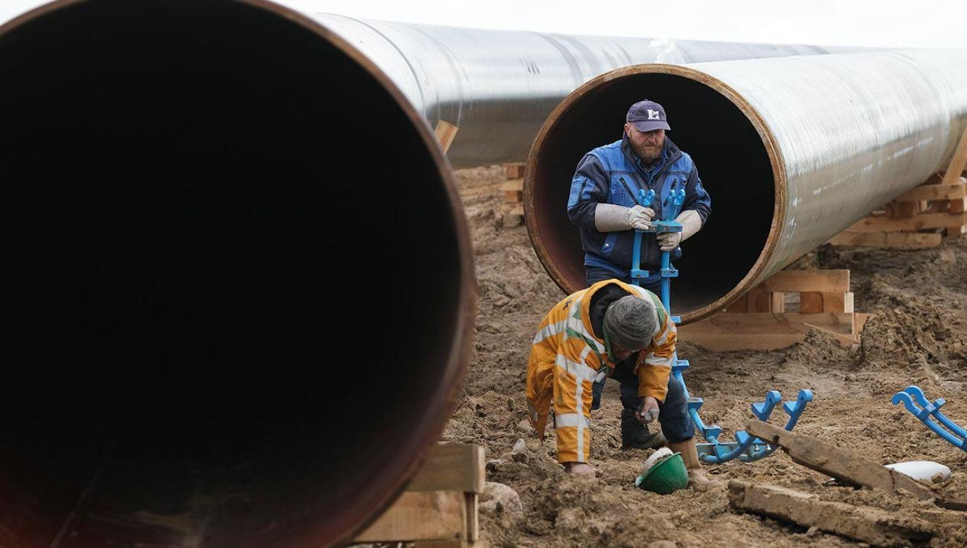 Budowa Baltic Pipe zostanie zakończona w październiku 2022 r. (fot. Sean Gallup/Getty Images)